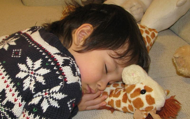Sleep disorders in children and the symptoms